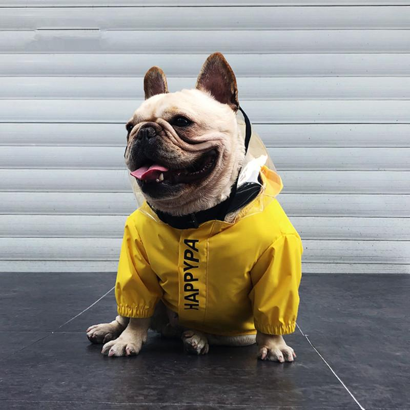 Frenchie World Shop Spaceman French Bulldog Raincoat