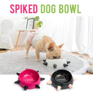 Frenchie World Shop Spiked Dog Bowl