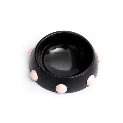 Frenchie World Shop Black S / Size Spiked Dog Bowl