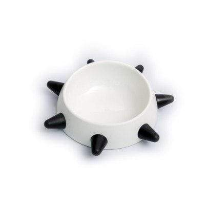 Frenchie World Shop White L / Size Spiked Dog Bowl