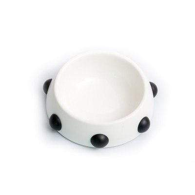 Frenchie World Shop White S / Size Spiked Dog Bowl