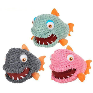 Frenchie World Shop Squeeky Toy Piranha