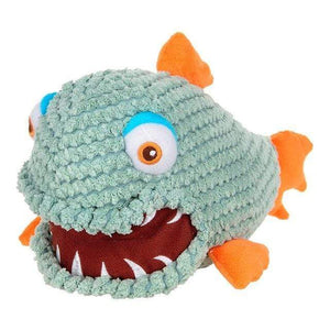 Frenchie World Shop Green / M Squeeky Toy Piranha