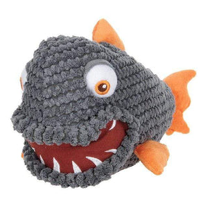 Frenchie World Shop Grey / M Squeeky Toy Piranha