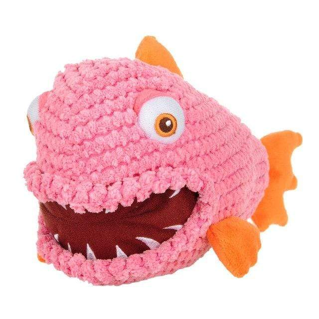 Frenchie World Shop Pink / M Squeeky Toy Piranha