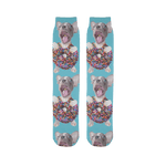 alloverprint.it Accessories 45X10 cm Sublimation Tube Socks