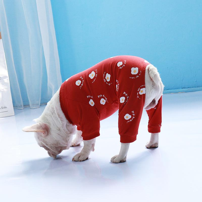 Frenchie World Shop Sunny Side Up French Bulldog Pajamas