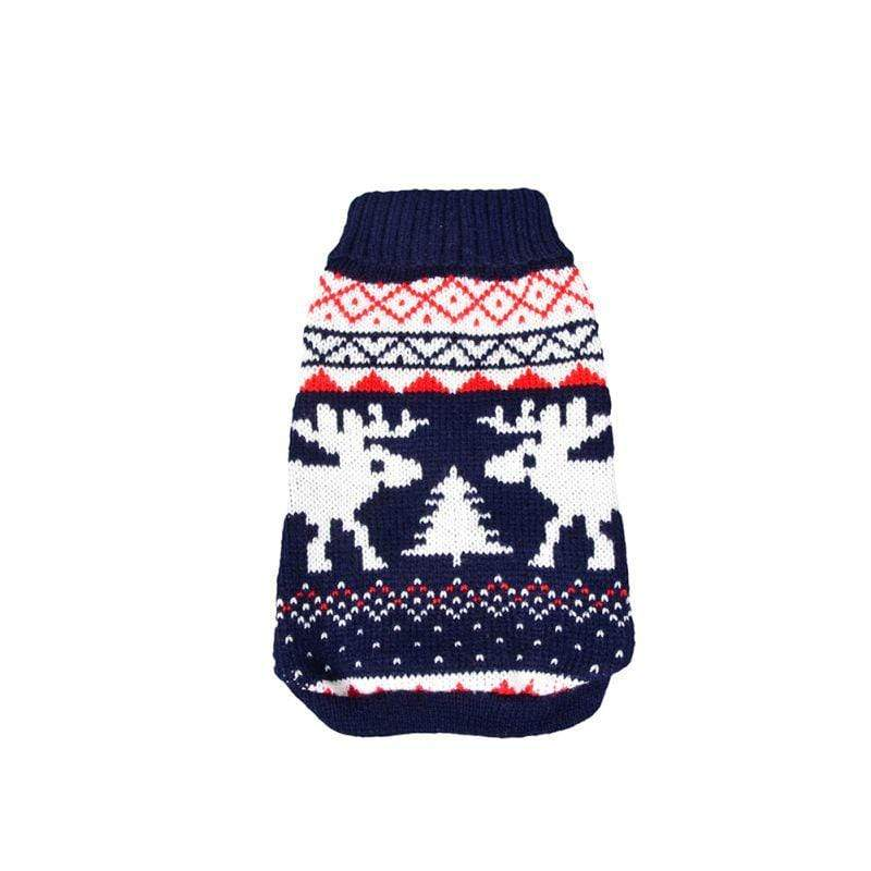 Frenchie World Shop Blue / L Ugly Dog Sweater