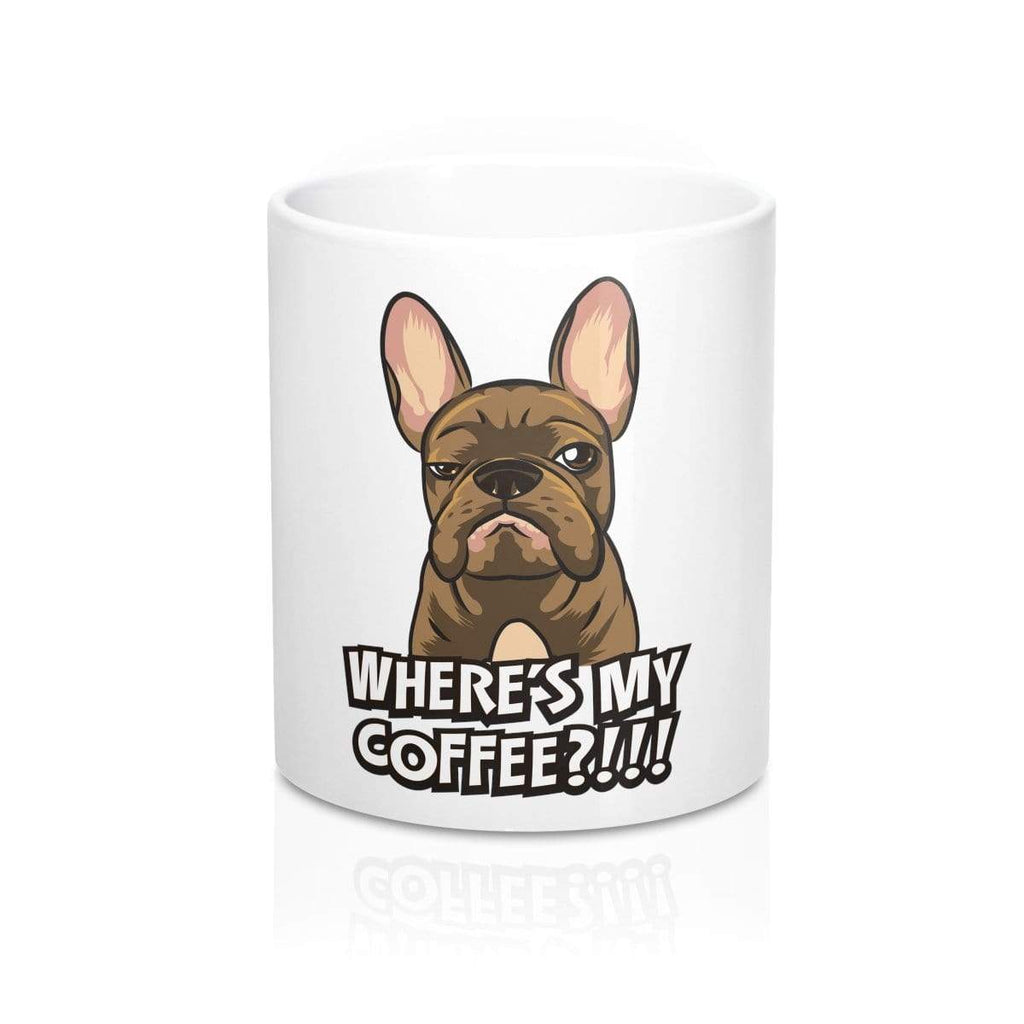 Printify Mug 11oz Where's My Coffee Mug