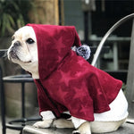 Frenchie World Shop Red / XS Wizard Style Cloak Hoodie