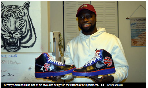 Kemmy Smith: Halifax's sneaker artist