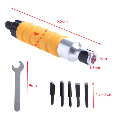 Electric Chisel Tools Set