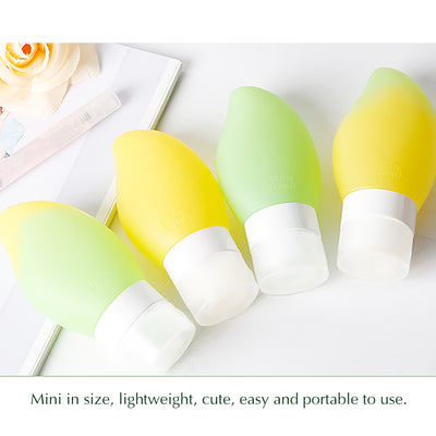 Leakproof Silicone Travel Bottles Set