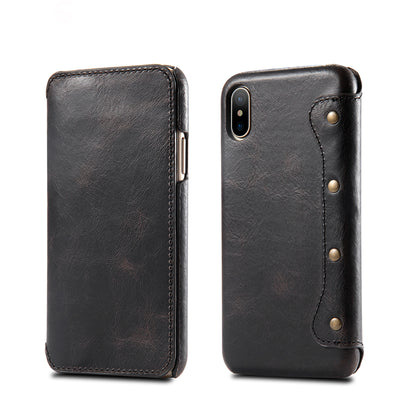 Leather Case For iPhone X