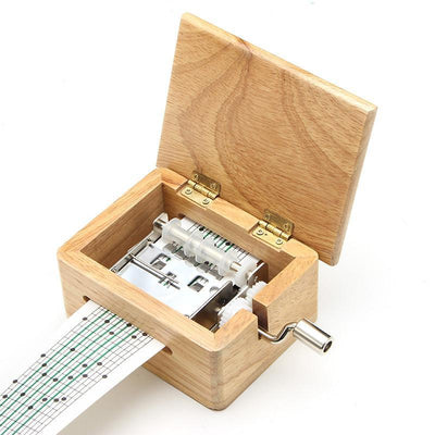DIY Hand-cranked Music Box