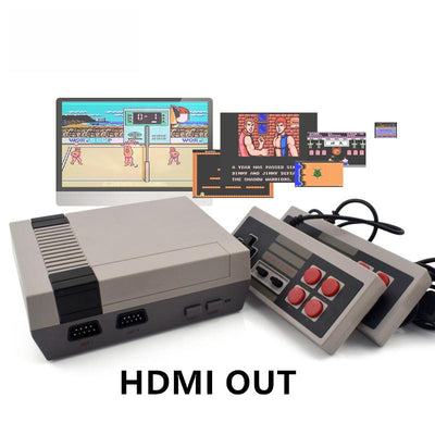 8 Bit Retro Video Game Console