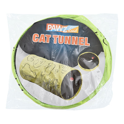 Kitten Tunnel Toy With Ball