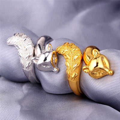 Fire Fox Ring
