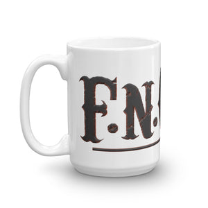 F.N.Cool Branded Logo Coffee Mug