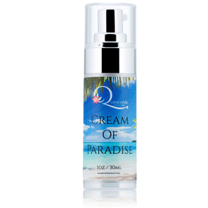 Cream of Paradise - Sensitive Skin Safe - QuenchMe. DrenchMe.