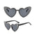 Lolita Sunnies - Black Studded