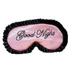 Ash Lash 'Good Night' Satin Sleep Mask