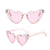 Lolita Sunnies - Pink/Clear Studded