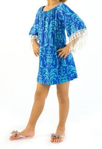 Kid's Fringe Tunic Top
