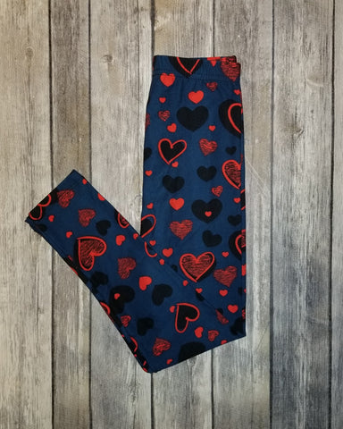 Kid's Heart Throb Leggings