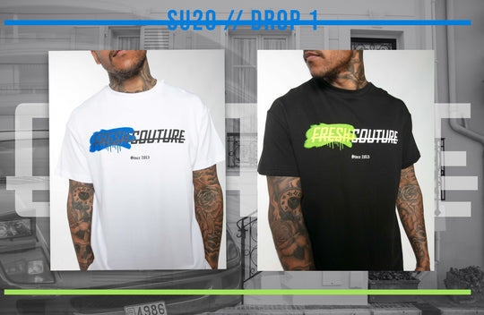 FRESH COUTURE 'SPRAY' T-SHIRT RELEASE