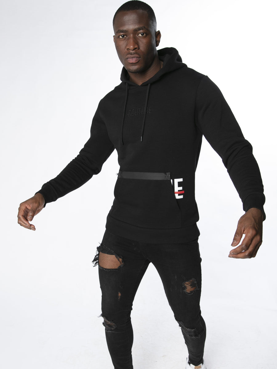 OFFICIAL FRESH COUTURE™ Reveal Strike Hoodie 'Black' Hoodie
