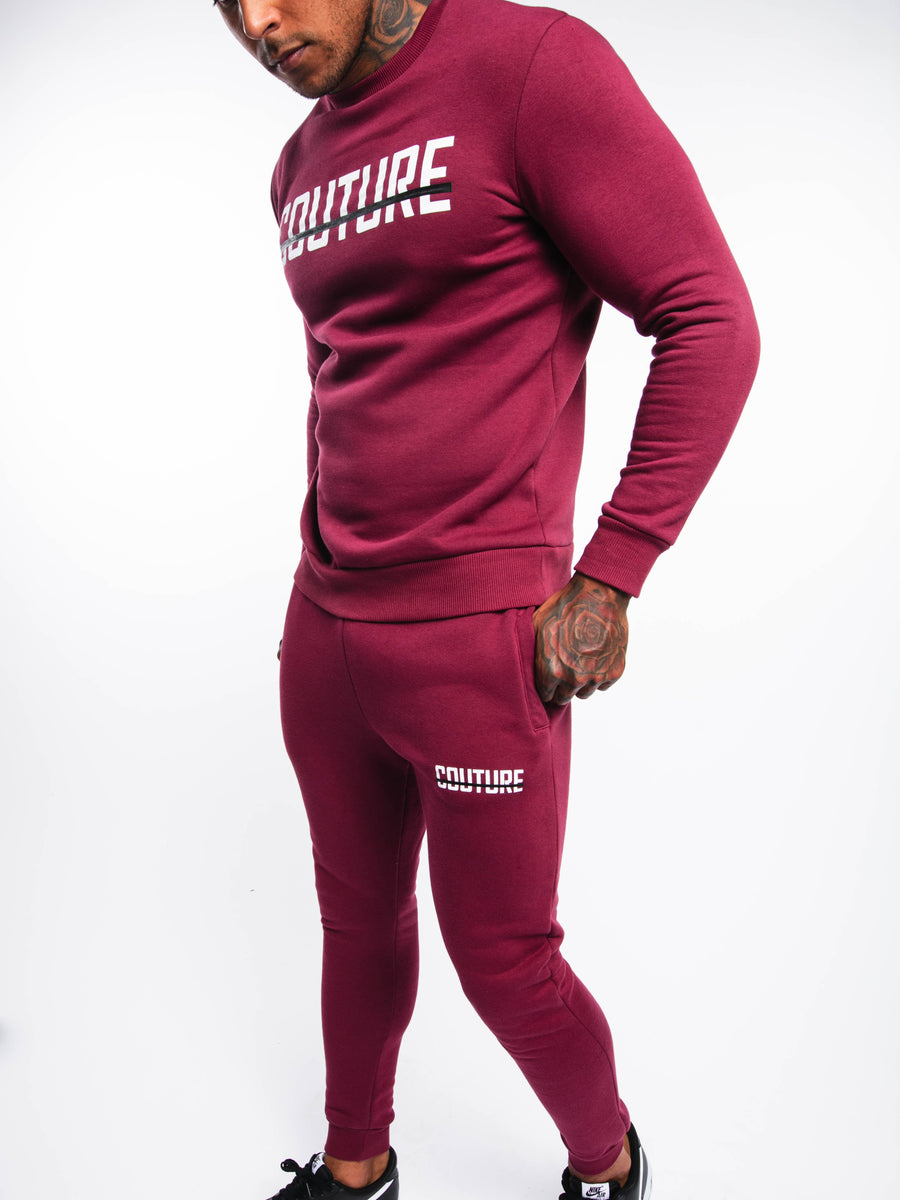 OFFICIAL FRESH COUTURE™ Strike OG Sweatshirt Burgundy 'Colour Pack' Sweatshirts