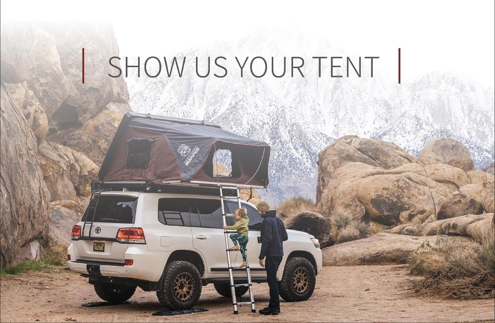 Show Us Your Tent Video Contest