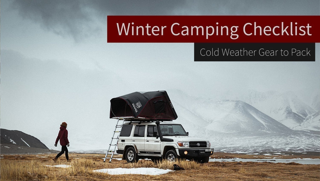 Winter Camping Checklist - Cold Weather Gear to Pack