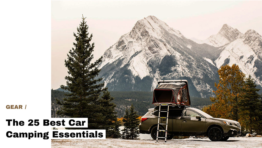 Skycamp Mini featured in The 25 Best Car Camping Essentials - HiConsumption.com