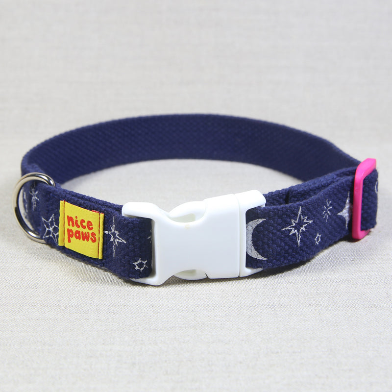 Cotton Collar - Night Time Print