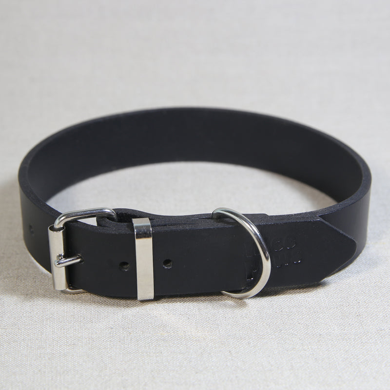 Leather Collar - Black