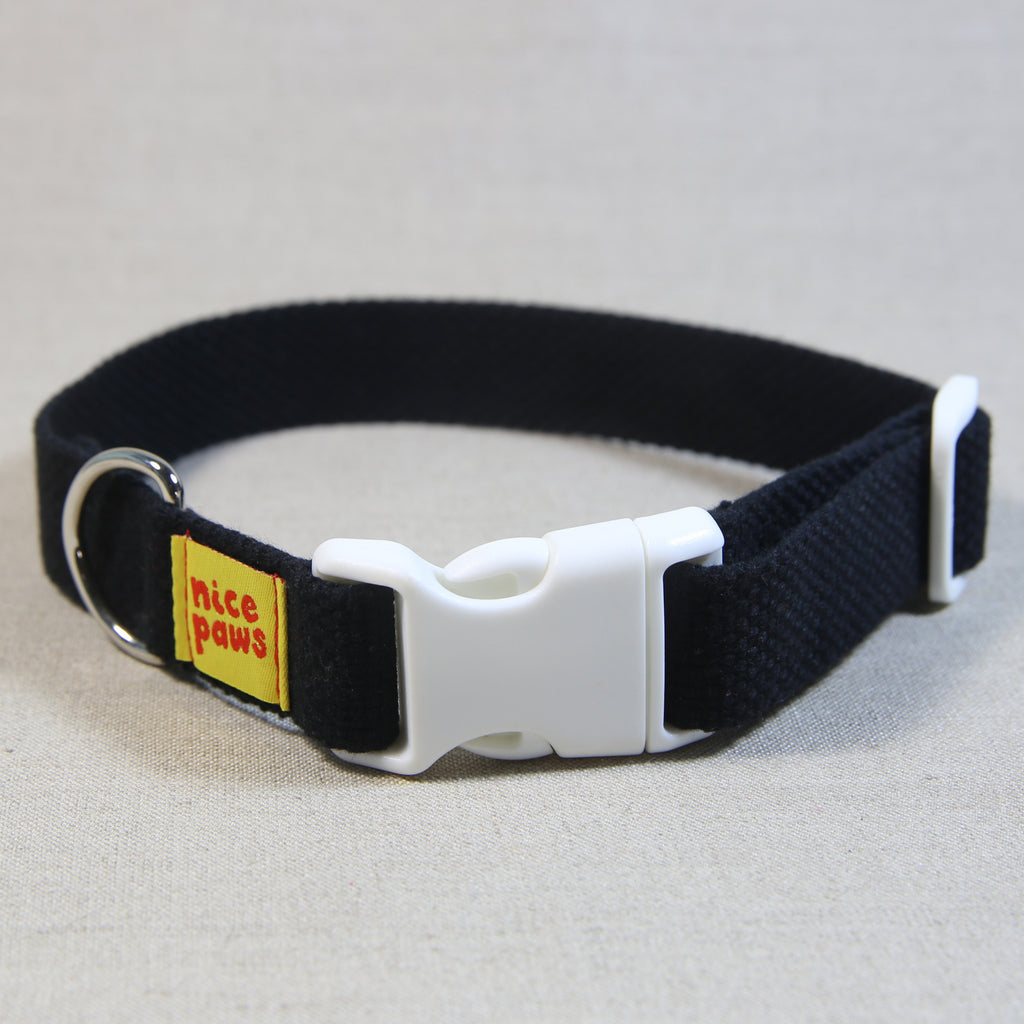 Cotton Collar - Black/White