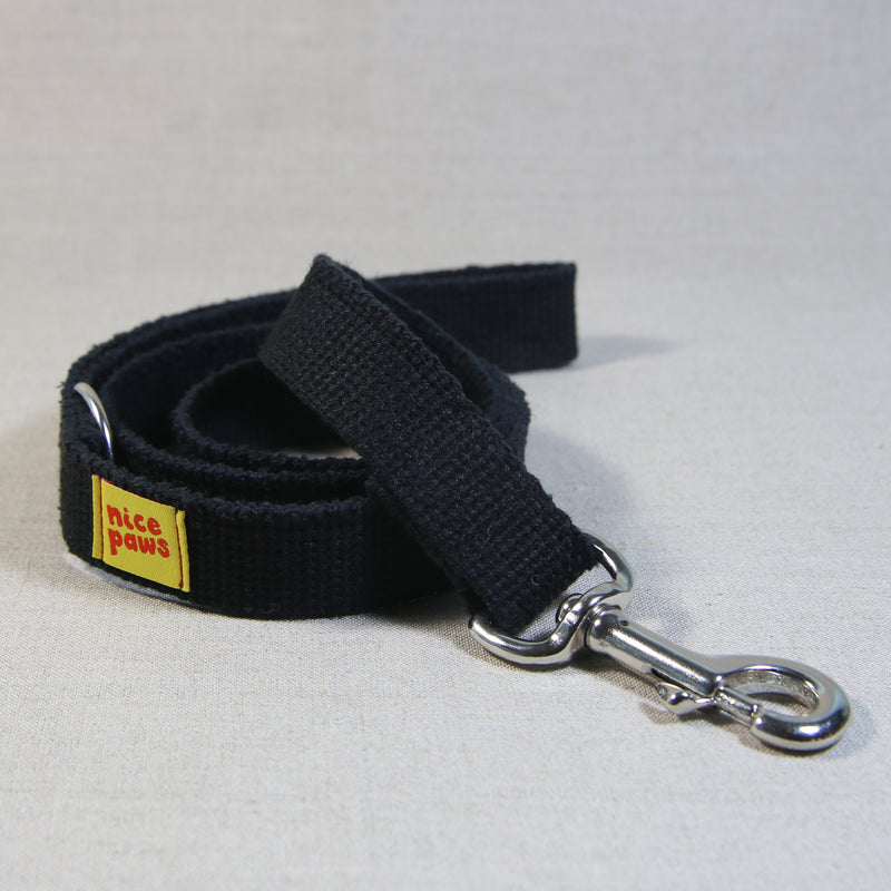 Hemp Leash - Black
