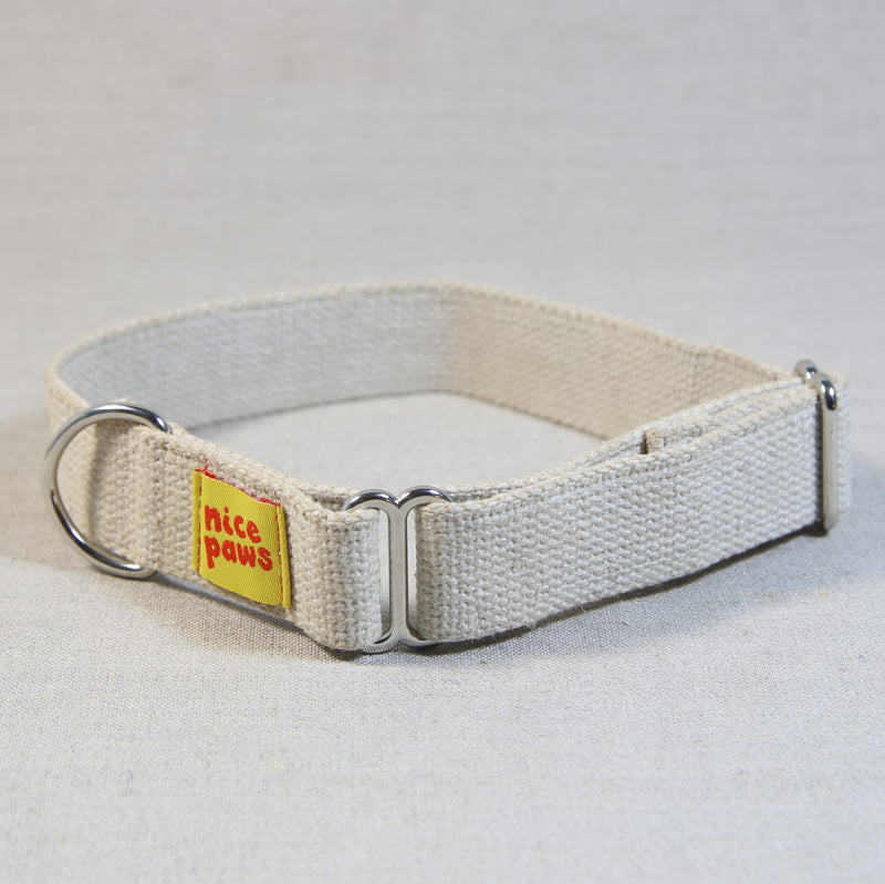 Hemp Slide-On Collar - Natural