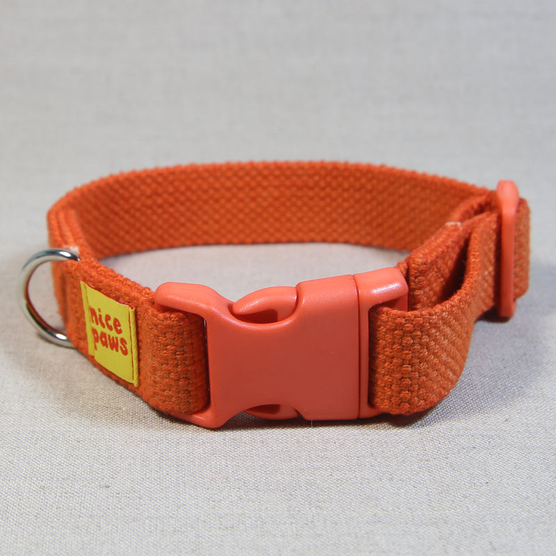 Cotton Collar - Orange