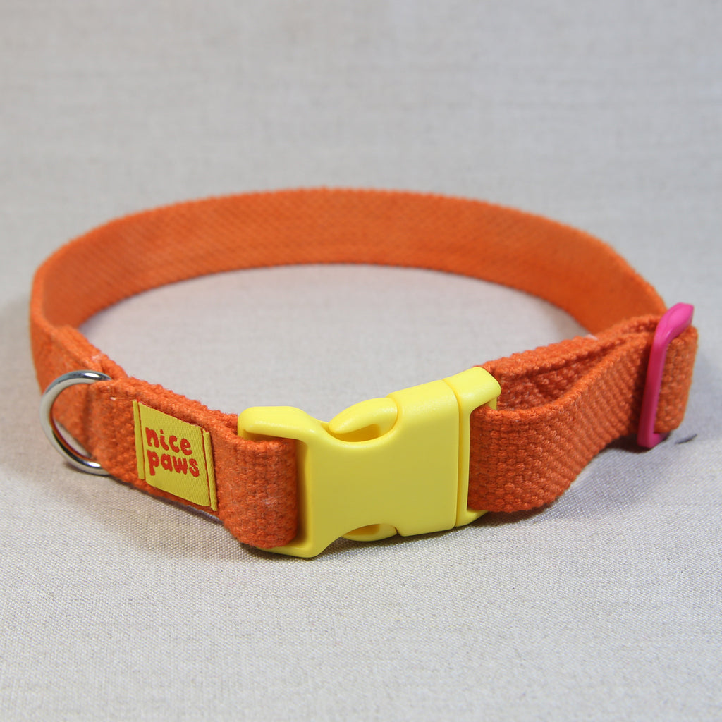 Cotton Collar - Orange/Yellow/Pink
