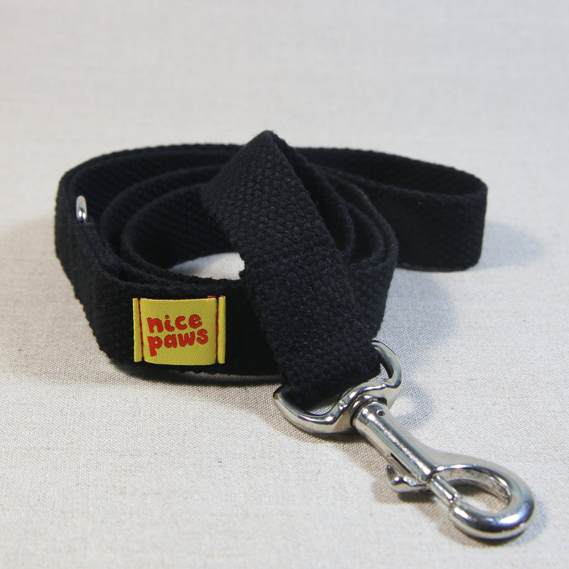 Cotton Leash - Black