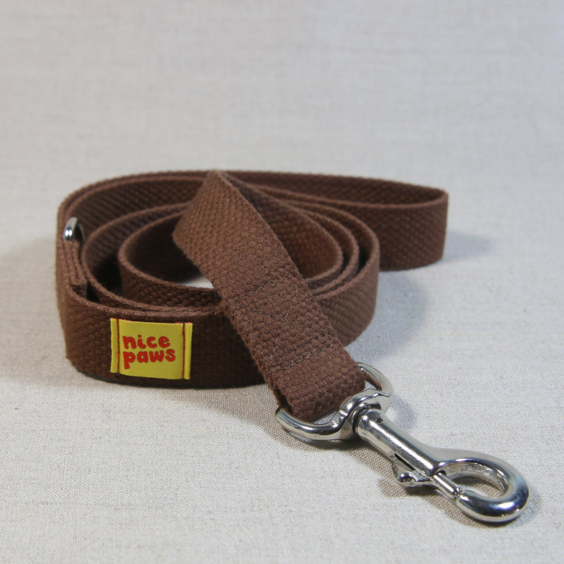 Cotton Leash - Brown