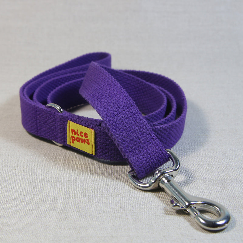 Cotton Leash - Purple