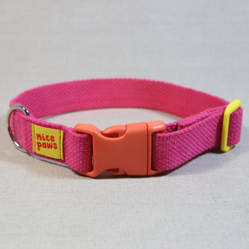 Cotton Collar - Pink/Orange/Yellow