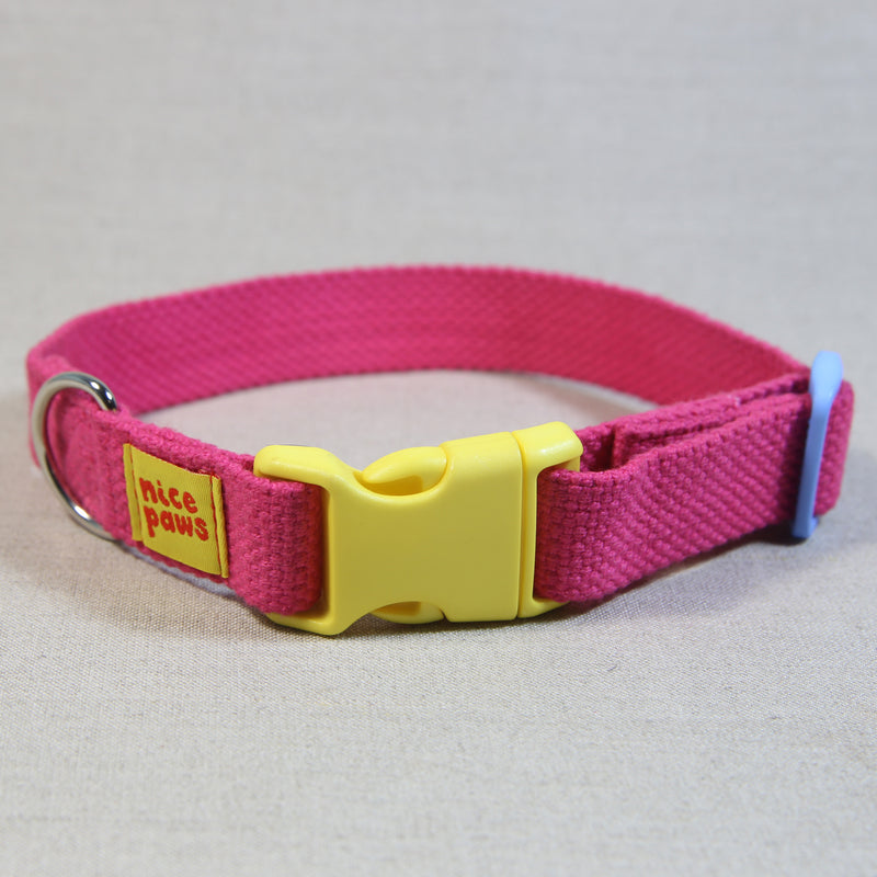 Cotton Collar - Pink/Yellow/Light Blue