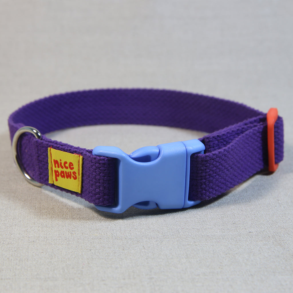 Cotton Collar - Purple/Light Blue/Orange