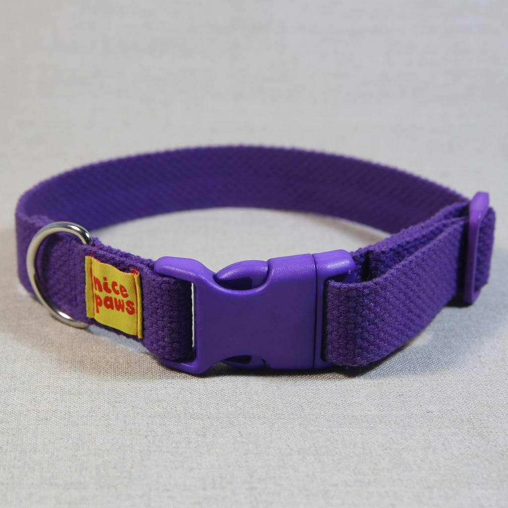 Cotton Collar - Purple