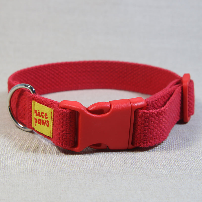 Cotton Collar - Red